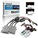 Sidaqi H7 Kit de conversion de phares au xénon HID 6000K Deux ultra-fins...