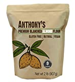 Anthony's Almond Flour Blanched, 2 lb, Batch Tested Gluten Free, Non GMO, Vegan, Keto Friendly