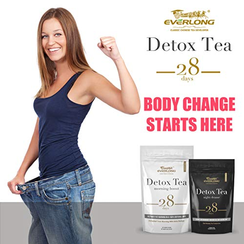 Detox Tea 28 Day Ultimate Teatox - Burn Fat and Boost Your Energy, Colon Cleanse, Activate Immune System and Accelerate Healthful Weight Loss - with Bonus Digital Welcome Guide 2