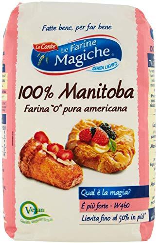 Lo conte Le Farine magiche Farina Favola Manitoba 100% Americana 1kg Harina para Postres