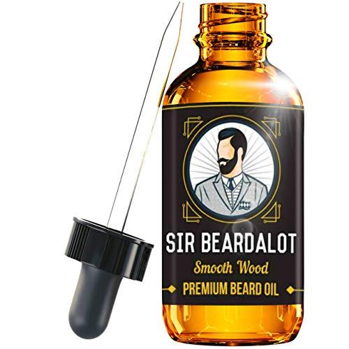 Sir Beardalot Olio da Barba per uomo - Naturale Inglese di Qualità - Idrata e Nutre la Pelle, 30ml