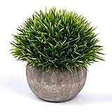 LANGING Petite Plante Artificielle Artificielle en Pot pour Salle de Bain,...