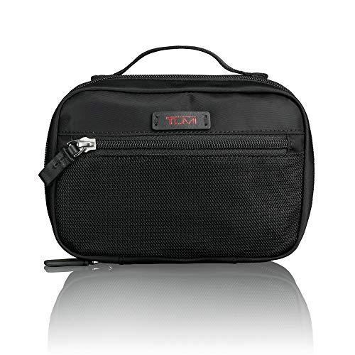 TUMI - Luggage Accessories Pouch - Travel Toiletry Bag for Men and Women - Small - Black