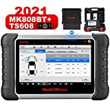 2021 Newest Autel Scanner MaxiCOM MK808TS, Combination of Autel MK808BT and TS608, OE-Level TPMS Scan Tool with 28+ Service Functions, All Systems Diagnoses, Activate/Program/Relearn TPMS Sensors