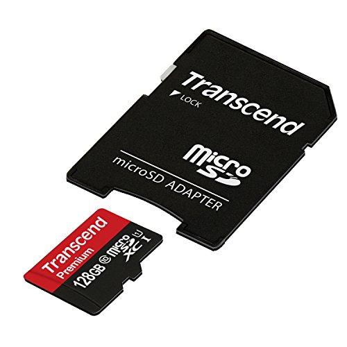 【Amazon.co.jp限定】Transcend microSDXCカード 128GB Class10 UHS-I対応 400× (無期限保証) TS128GUSDU1PE (FFP)