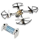 Gizmovine K88 Drone 2.4GHz 4 CH 6 Axis Gyro Quadcopter con Funciones de Modo sin Cabeza Retorno una Clave 3D Flip Módulo Opcional