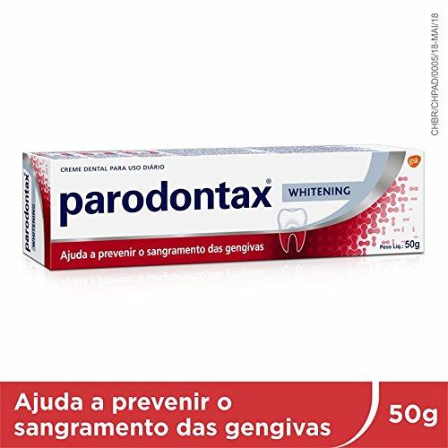 Creme Dental Branqueador Prevenção Sangramento das Gengivas, Parodontax, Rosa, 50g