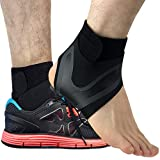 Beister 1 Pair Ankle Support Breathable Neoprene Compression Ankle Brace for Men and Women, Elastic...