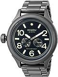 Nixon Men's 'October Tide' Quartz Metal and Stainless Steel Watch, Color:Grey (Model: A4741418-00)