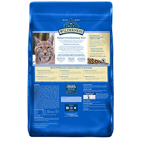 Product Image 2: Blue Buffalo Wilderness High Protein, Natural Adult Indoor Dry Cat Food, Chicken 11-Lb