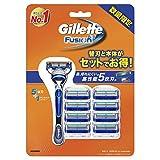 ジレット フュージョン5+1 マニュアル 髭剃り 単品 本体+替刃9個付