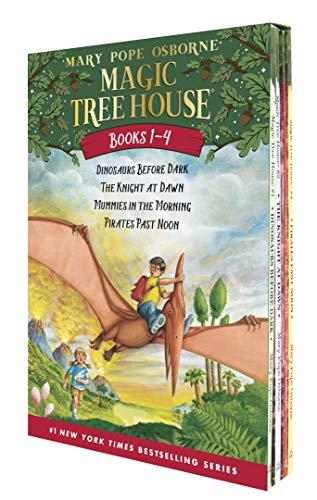 Magic Tree House Boxed Set, Books 1-4: Dinosaurs Before...