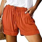 KUKICAT Shorts Femme Sexy Dentelle Grande Taille Hot Pantalons Été Corde Attacher Yoga Sport Jambières Casual Bermudas Pas Cher