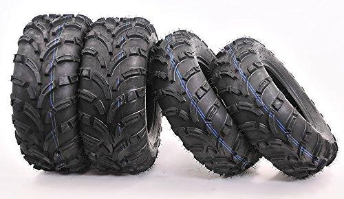 Full set WANDA ATV/UTV Tires 25x8-12 Front & 25x10-12 Rear /6PR