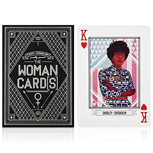 The Woman Cards - Premium Illustrated Feminist Playing Cards...