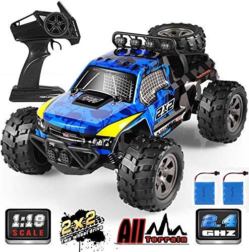 Tomatu Ferngesteuertes Auto RC 2.4 Ghz Radio Control Geländewagen Spielzeug Fahrzeug für Kinder Erwachsene