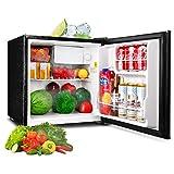Mini Fridge, TACKLIFE 1.6 Cu Ft Mini Refrigerator with Freezer, 1 Door, 37DB Super Quiet, Ideal Small Refrigerator for Bedroom, Dorm, Office, Garage, Camper, Basement, RV, Apartment, Black- MPBFR161