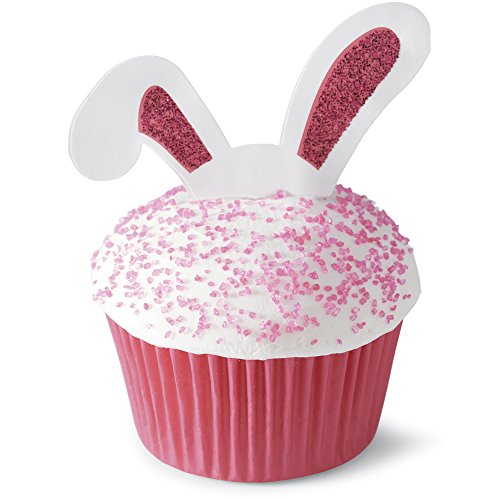 Easter Bunny Ears Cupcake Picks Set of 12