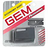 Gem Personnal Single Edge Stainless Steel Blades with Used Blade Vault, 10-Count Packages (Pack of...