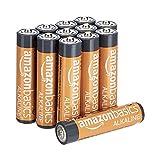 AmazonBasics Lot de 12 piles alcalines Type AAA 1,5 V 1340 mAh (design...