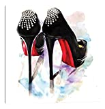 iCanvasART Christian Louboutin Classic Heels Canvas Print, 12' x 12'