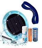 Original Solar Pool Ionizer   85% Less Chlorine   Lifetime Replacement Warranty   Kill Algae in Pool   High efficiency   Keeps Pool Cleaner and Clear   Clarifier   Free Buddy Band   Up To 35,000 Gal