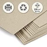 Trashy World Lot de 50feuilles de papier épais fabriquées à partir de...