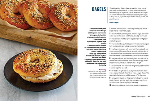 Keto Bread: From Bagels and Buns to Crusts and Muffins, 100 Low-Carb, Keto-Friendly Breads for Every Meal 5