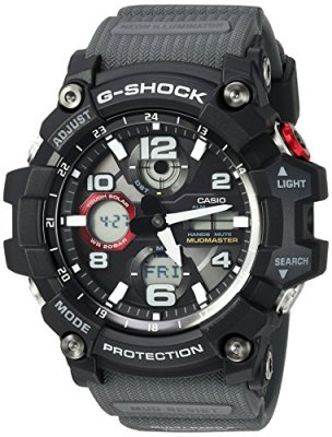Casio Men's G-Shock Quartz Watch with Resin Strap, Black, 27 (Model: GWG-100-1A8CR)