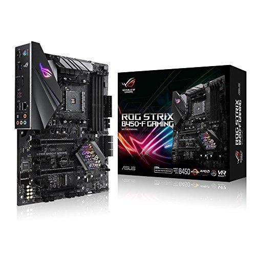 ASUS ROG Strix B450-F Gaming Motherboard...