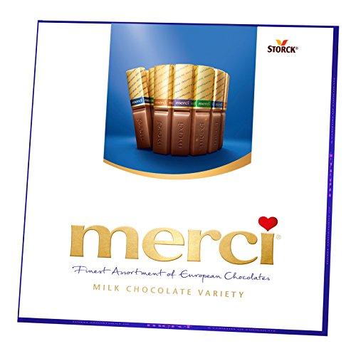 Merci European Milk Chocolate Variety - 7 ounces