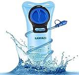 Poche Hydratation Portable 2 litres, RANIACO Poche a Eau,Réservoir d'eau de Sport,Sacs à dos...