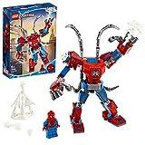 LEGO 76146 Super-héros Marvel Le robot de Spider-Man, Set de jeu pour enfants de 6 ans et plus