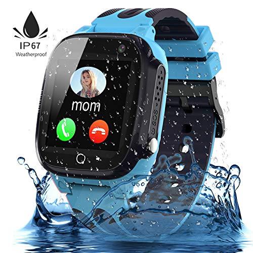 Jaybest Kinder Smartwatch,Wasserdichte Smart Watch für Kinder,kids Smart Watch...