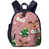 XCNGG Mochila para niños Mochila para niños Bolsos para niños JierJi Baby Girls Toddler Bags Christmas Decorations Print Kids Backpacks For Outdoor