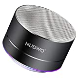 Enceinte Bluetooth, NUBWO A2 Enceinte Bluetooth Mini Portable de Voyage,...
