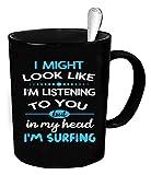 Surfer Coffee Mug - 11 oz. Surfing funny gift.