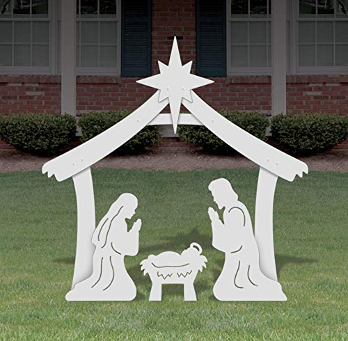 FrontYard Originals Holy Family Outdoor Nativity Set - Medium