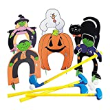 Fun Express Halloween Put Put Mini Golf Set (Includes Clubs and Balls and Holes) Halloween Games and...