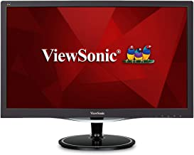 ViewSonic VX2457-MHD 24 Inch 75Hz 2ms 1080p Gaming Monitor with FreeSync Eye Care HDMI and DP, Black