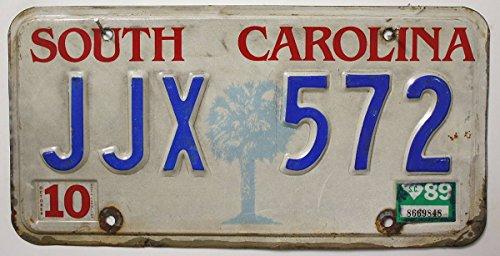 US Nummernschild SOUTH CAROLINA Kennzeichen # Motiv Blechschild # Autoschild USA