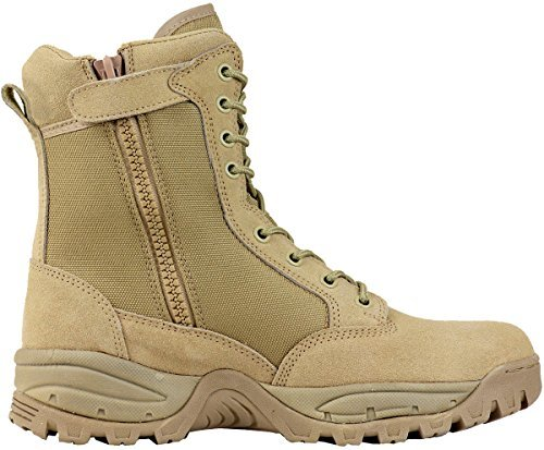 Maelstrom Women's TAC FORCE 8 Inch Military Tactical Duty Work Boot with Zipper
