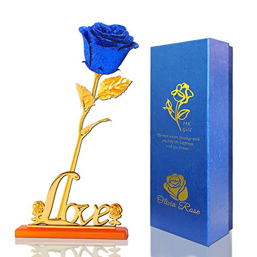Auelife Forever Gold Rose Golden Foil with Luxury Gift...