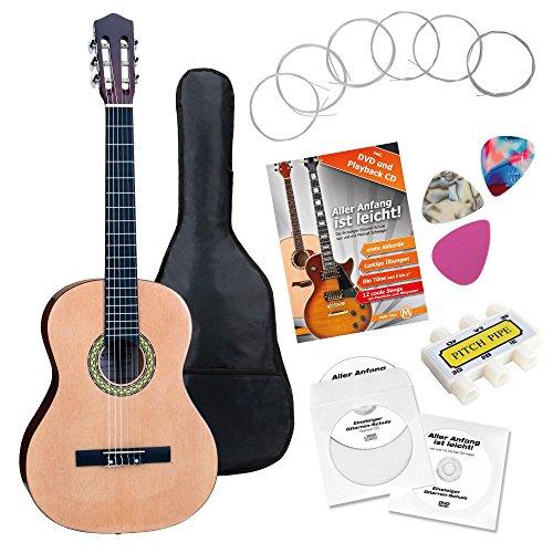 Guitarra de concierto 7/8 set de principiantes