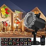 LED Projecteur De Noël,Qomolo Lampe Projection Décorative Extérieur et...