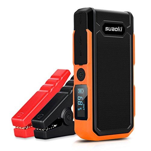 Suaoki U10 - Jump Starter de 20000mAh, 800A Batería Arrancador de Coche (Batería Externa Recargabl