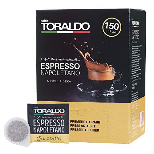 Caffè Toraldo Miscela Decaffeinato 150 Cialde