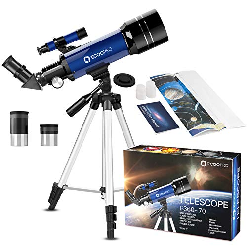CSSEA 70mm Telescope for Kids and Astronomy...