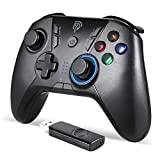 Manette PC/PS3 sans Fil Rechargeable, EasySMX 9110 2.4G Manette PC...