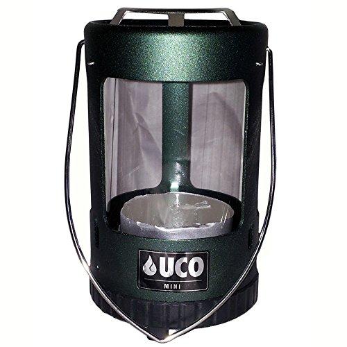 UCO Unisex\'s Mini-Laterne, eloxiert, Grün, Einheitsgröße